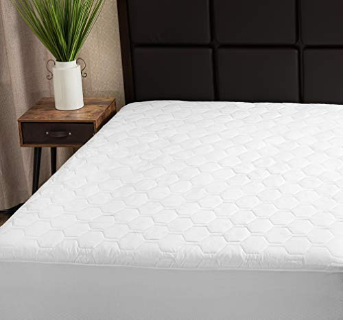 The Grand Mattress Pad Cover Fitted | Deep Pockets Bed...