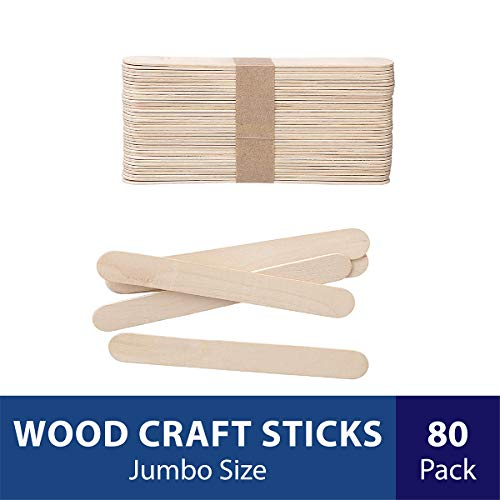 Pack of 1000 Perfect Stix 114ST-Craft Wooden Stick Box
