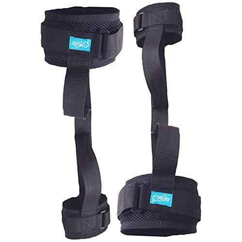 XER 2 PCS Beinhebehilfe Rollstuhl Heben Geräte Behinderung Heber Fuß Knie Schenkel Schleife Mit Hand Griff zum Behinderung Alten