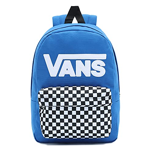 Vans Unisex Kinder New Skool Backpack Boys Rucksack, Nautical Blue, Einheitsgröße