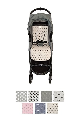 Fundas BCN ® - F160/0399 - Colchoneta Para Silla de Paseo BabyJogger ® Citymini Zip ® - Lucky Swallow