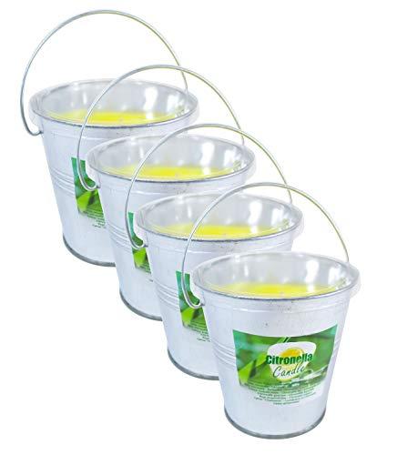 Pullach Hof Lot de 4 Bougies à la citronnelle dans Le...