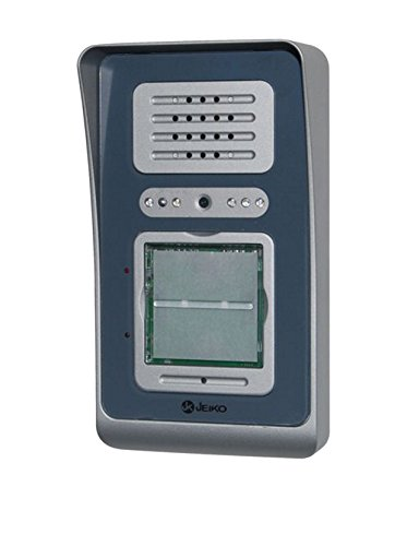 Jeiko Easy120 Postazione Videocitofonica da Esterno per Sistema Modulare Easy con Comando per Serratura Elettrica