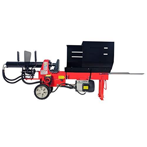 CROSSFER Holzspalter HLS8T-400V / 8 Tonnen Spaltkraft / 52cm Spaltlänge / 400V Elektromotor / 2 Hand Bedienung/hydraulischer Brennholzspalter