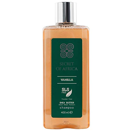 Secret of Africa Shampoo Vanilla & Shea Butter 400ml