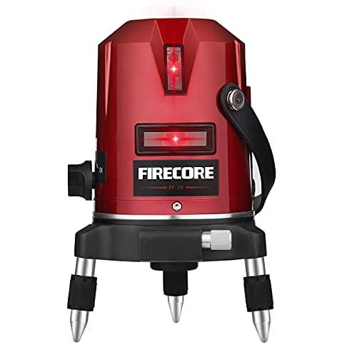 Firecore 360°2ライン 増強ポイントフルライン レーザー墨出し器 レーザー墨出器 レーザーレベル EP-2R レーザー水平器 レーザー測定器 墨出し 墨出し器 レーザー墨 墨だし器 送料無料 1年間保証 …