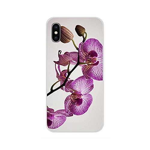 Funda de TPU para Samsung Galaxy J1 J2 J3 J4 J5 J6 J7 J8 Plus 2018 Prime 2015 2016 2017 orquídea flores colorido lujo moda 2D-imágenes 9-Para J5 2015
