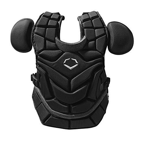 Evoshield Pro-Srz Chest Protector (W/ Nocsae Chest Guard) - Black, Adult [16']