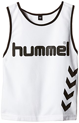 Hummel Fundamental Training - Camiseta de entrenamiento para niños, color blanco, talla S