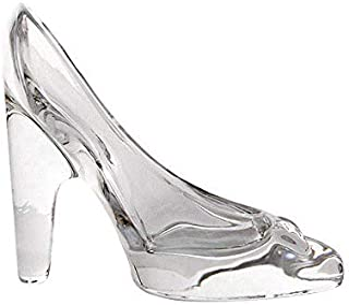 4dfb8f9b Kentop - Mini calzado de cristal con adornos para cenicero, de cristal,  para decoración