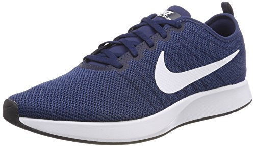 Nike Men's Dualtone Racer Gymnastics Shoes, Blue (Midnight Navy/White/Coastal Bl 400), 6 UK