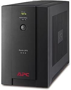 APC Back-UPS BX - BX950U-GR - Unterbrechungsfreie Stromversorgung 950VA (AVR, 4 Schuko Ausgänge, USB, Shutdown Software)