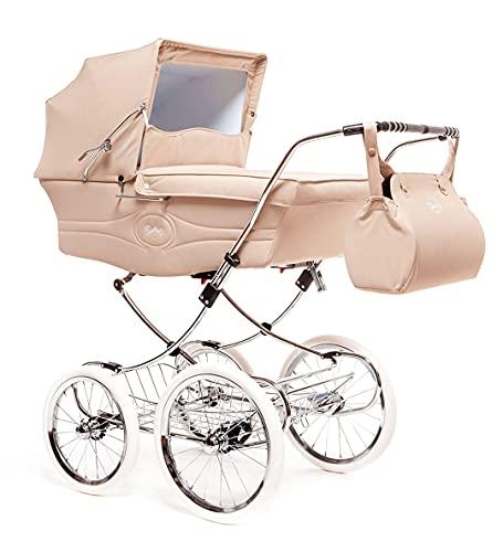 Arrue Seggiolini da passeggino per auto Classic (telaio, ruote, cestino e navicella), unisex