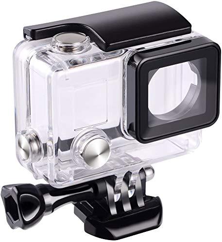 Custodia protettiva di sostituzione, impermeabile, per macchina fotografica GoPro Hero 4, 3+, 3, per uso subacqueo, impermeabile fino a 45 m