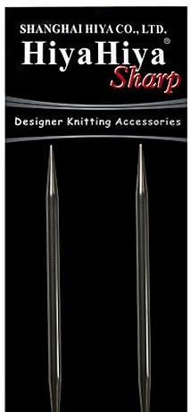 HiyaHiya Circular 16 inch 41cm Sharp Steel Siz Needle Knitting Max 85% Fees free!! OFF