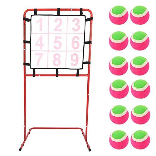 Apuntar -9 Rejillas Juguetes para niños Marco de Destino Desarrollo temprano Juego Educativo Apuntar Rack Toy
