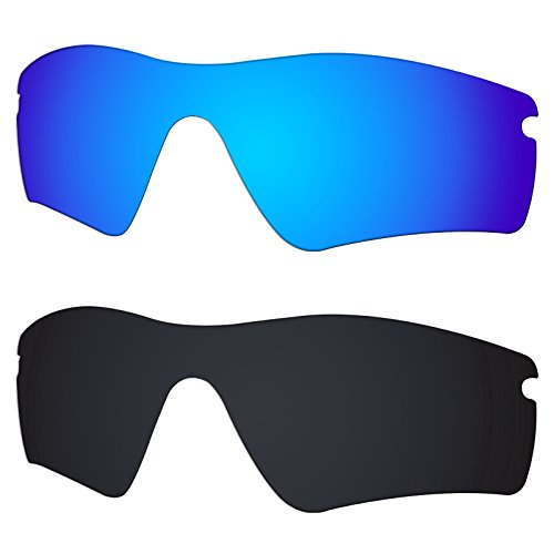 Galvanic Replacement Lens for Oakley Radar Path - Ice + Black Polarized - Pack
