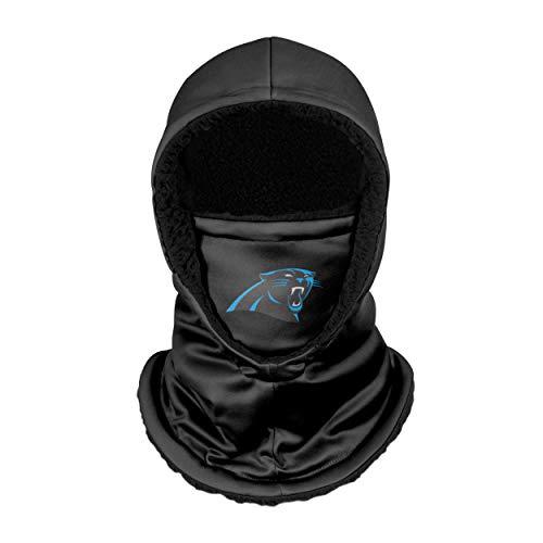 FOCO Carolina Panthers NFL Black Hooded Gaiter, Adult (SVNFGRHDSN)
