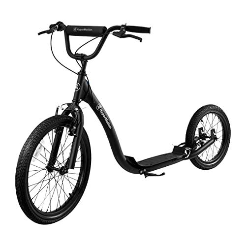 HyperMotion Patinete urbano Riva con ruedas hinchables de 50 cm y 40 cm