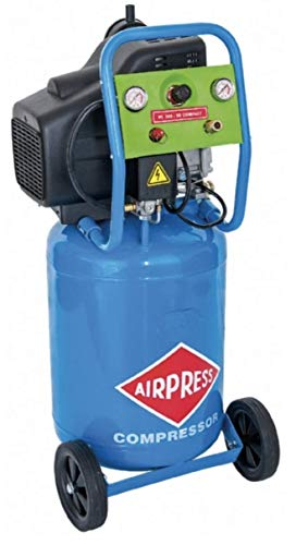 AIRPRESS Druckluft Kompressor leise | 0,7 PS 24V 10 bar DC24-225 | 0,7 PS 12V 10 bar DC12-180/15L | 15L Profi (24V)