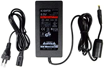 OSTENT EU Slim AC Adapter Charger Power Cable Cord Supply Compatible for Sony PS2 70000 Console