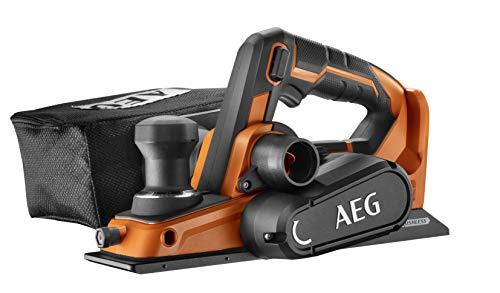 AEG 4935464988 BHO18BL-0 - Cepillo de carpintero (18 V, apertura para expulsión de...