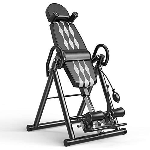 LWH Inversionsbank,klappbarer Schwerkrafttrainer,Streckbank zur Entlastung der Wirbelsäule,Nutzergewicht bis 150 kg,Rückenstrecker,79X115X156CM