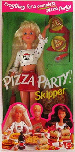 Skipper Doll Pizza Party Barbie Mattel 1994