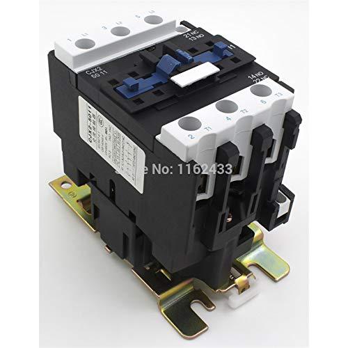 Contactor De 50A 3P NO + NC CONTACTOR CJX2-50 LC1-D50 Series Contactor 220V 380V 110V 48V 36V 24V (Color : 220V)