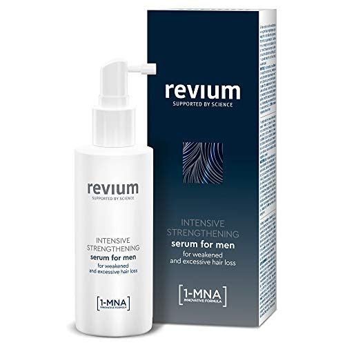 REVIUM ANTI-HAIR LOSS INTENSIVE CONDITIONING SERUM FOR MEN WITH 1-MNA MOLECULE AND H-VIT COMPLEX, FOR WEAK EXCESSIVELY FALLING OUT HAIR 150 ml