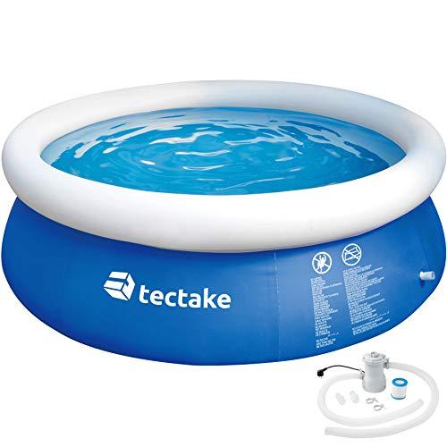 TecTake 800580 - Swimming Pool, Leichter Auf- und Abbau, Robuste und Starke Folie - Diverse Modelle (Typ 5   Nr. 402898)
