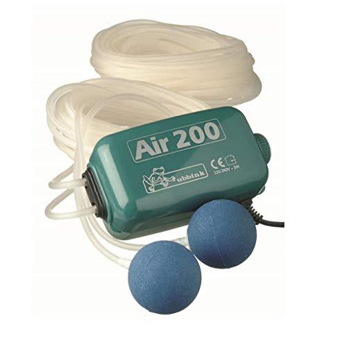 Ubbink Pompe d'Aération Intérieure Air 200 200 l/h Pompe de d'Aquarium