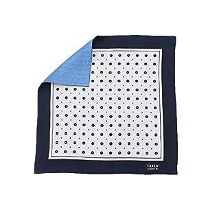 [ タケオキクチ ] スカーフ・バンダナ リバーシブル花柄小紋ポケットチーフ 37101802 メンズ ホワイト(501) 00