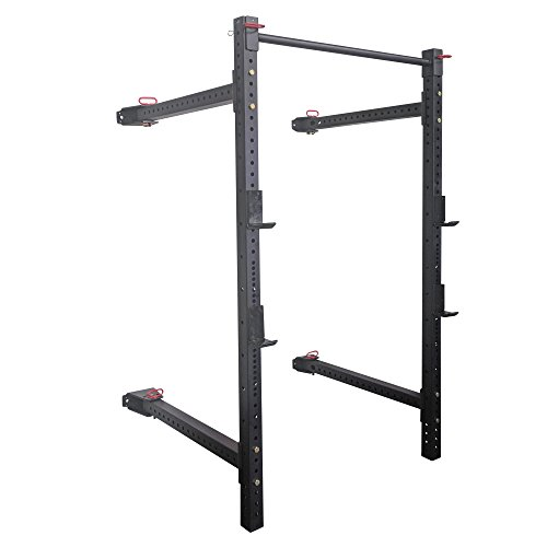 Titan 21.5' Fold Back Wall Mounted X-3 Power Rack