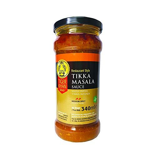 TIGER KHAN Salsa Asiática India Tikka Masala 340ml