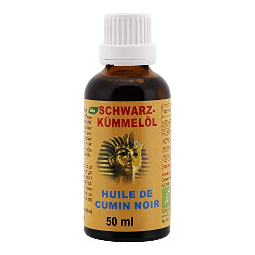 Olio-Cumino nero biologico - Nigella sativa dall'Egitto 50ml