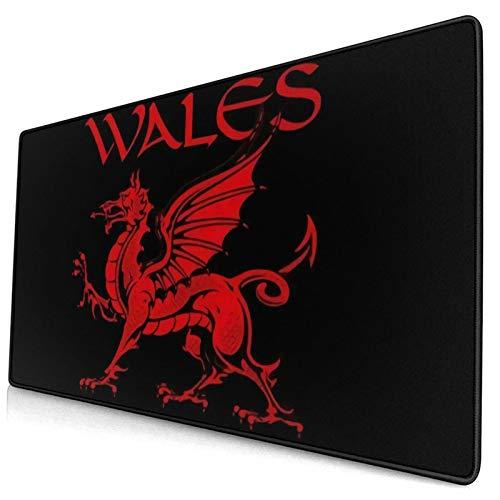 Almohadillas de ratón de dragón galés para computadoras colores tapete de mesa...