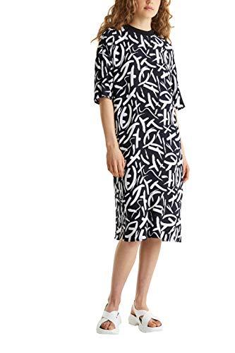 edc by ESPRIT Damen 040CC1E318 Kleid, 003/BLACK 3, 40