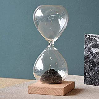 1Pc Awaglass Hand-Blown Timer Clock Magnet Magnetic Hourglass Ampulheta Crafts Sand Clock Hourglass Timer Gift Home Decor