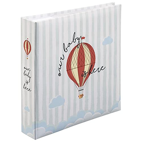 Hama Álbum de Notas Our Baby, 22,5 x 22 cm, 100 páginas, máx. 200 Fotos de 10 x 15 cm, Estándar, Multicolor, 22.5 x 22 cm