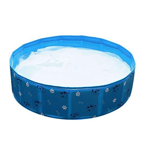 Bingbian faltbare PVC-Haustier-Pool für Hunde, zum Schwimmen, für Katzen, Welpen, Garten, Outdoor B