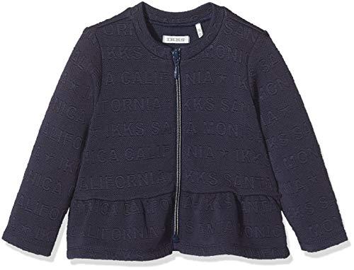 IKKS baby meisje Vest Cardigan Zippé bleu