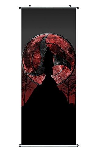 CoolChange Großes Naruto Rollbild / Kakemono aus Stoff Poster, 100x40cm, Motiv: Itachi Uchiha, Bild 2