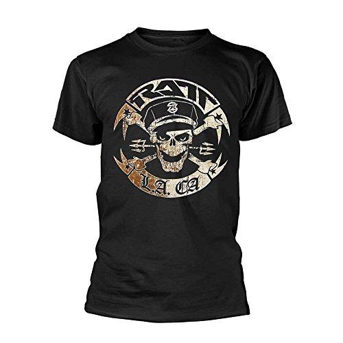 RATT Vintage RATT Biker Official Tee T-Shirt Mens Unisex (Medium) Black