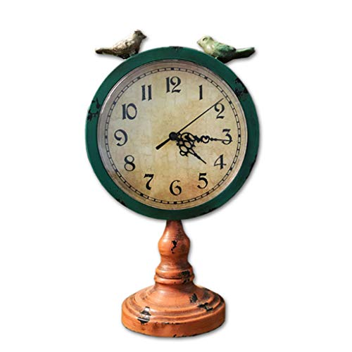 zxb-shop Reloj de Mesa Reloj Mute Reloj de Cuarzo analógico