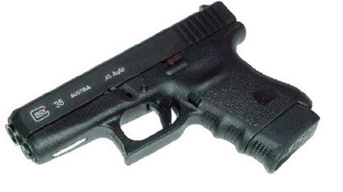 Pearce Grips Gun Fits GLOCK Model 36 Plus Zero Extension