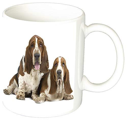 MasTazas Basset Hound D Tasse Mug