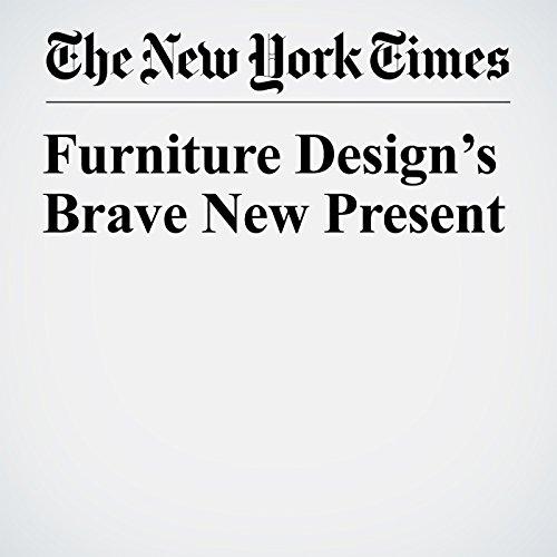 Furniture Design's Brave New Present copertina