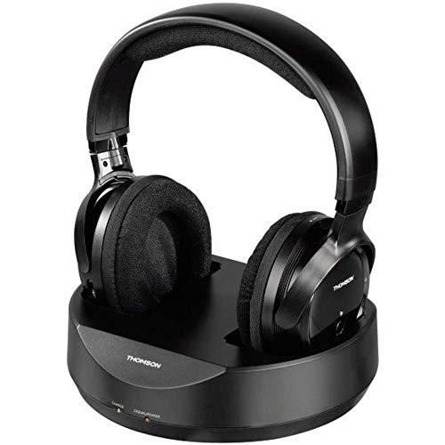 Thomson WHP3777 Funk Over Ear Kopfhörer Over Ear Lautstärkeregelung Schwarz