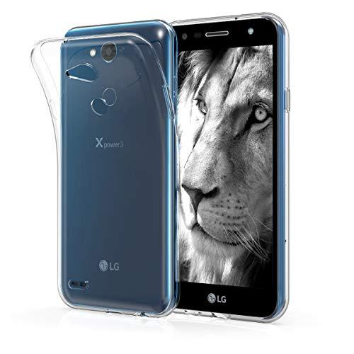 kwmobile LG X Power 3 Hülle - Handyhülle für LG X Power 3 - Handy Case in Transparent